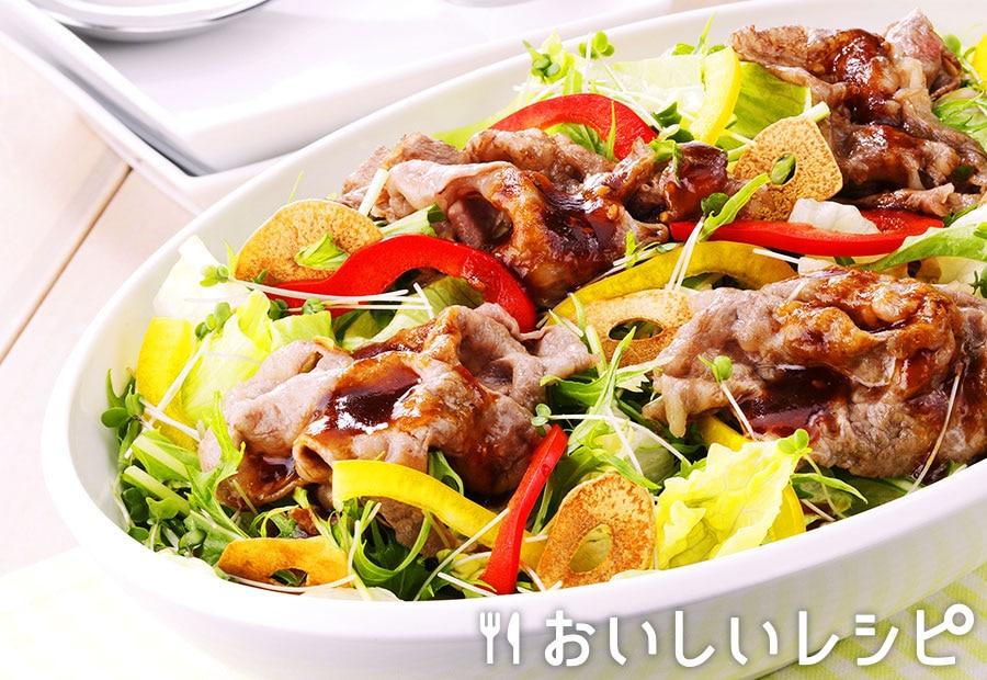 焼肉サラダ(プチサイズ使用)