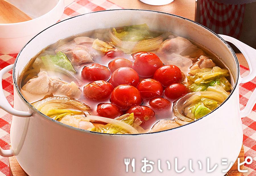 トマトチキン鍋