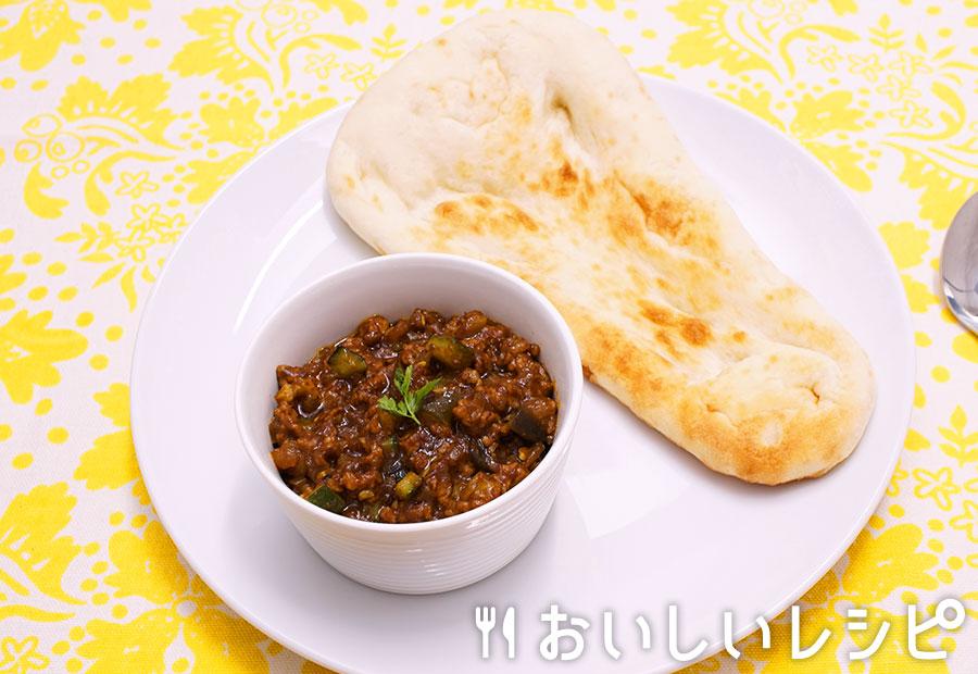ラム挽き肉のキーマカレー