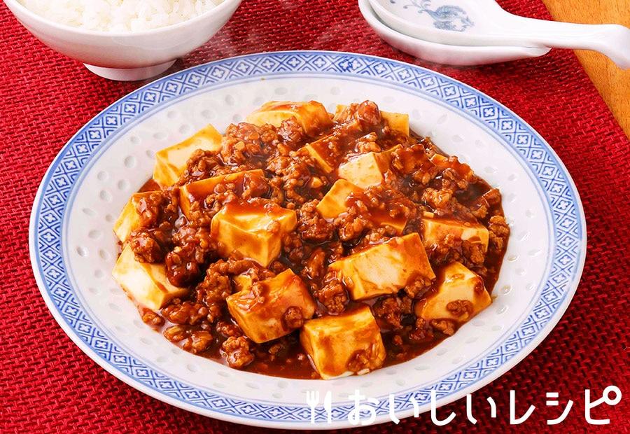 レンジで麻婆豆腐