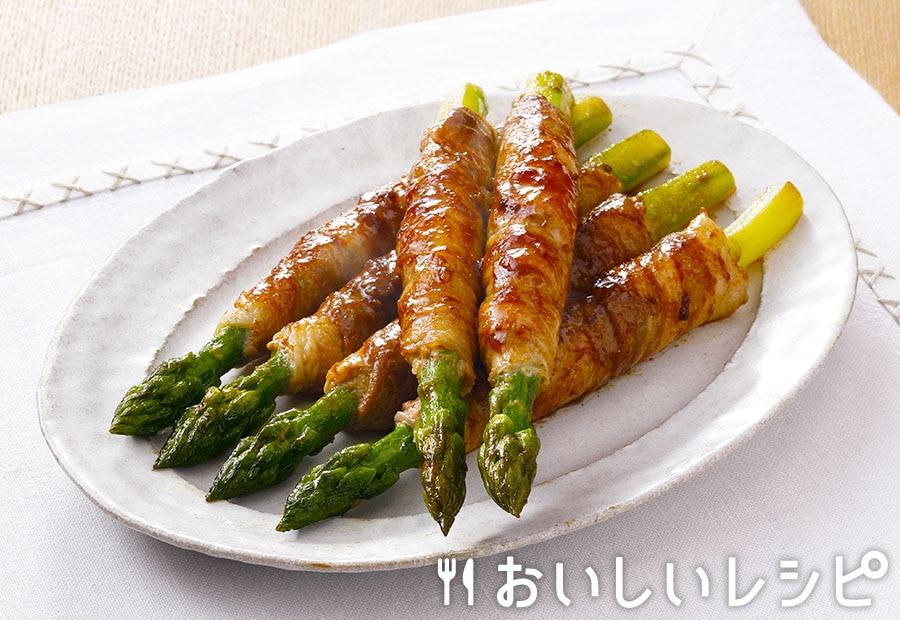 黄金肉巻きアスパラ(プチサイズ使用)