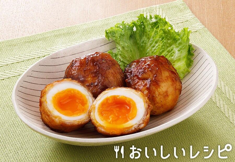 黄金肉巻き卵(プチサイズ使用)