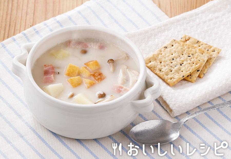 じゃがいもの白のスープ