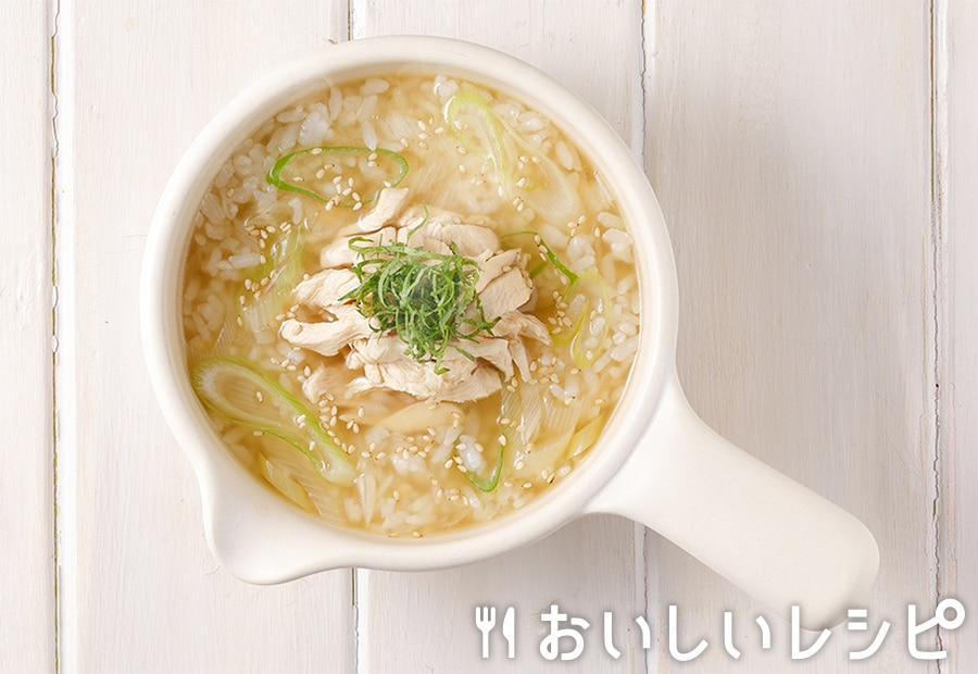 my主食スープ ささみの和風雑炊