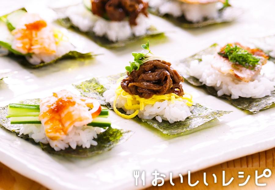 一口のっけ寿司