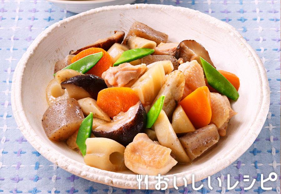 冷凍野菜を使って!簡単筑前煮