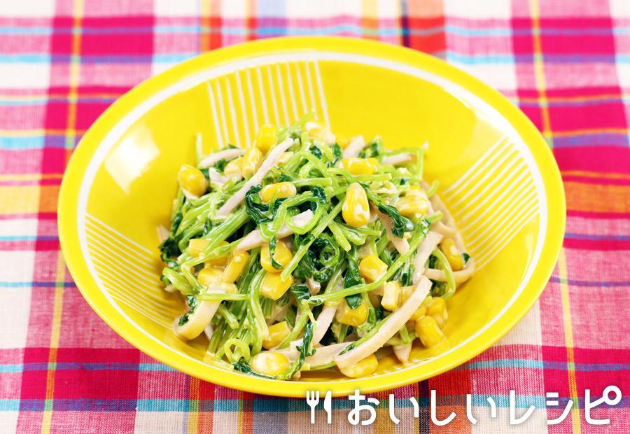 コールスロー風豆苗サラダ