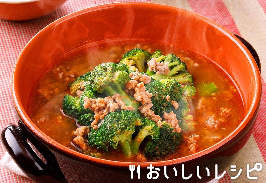 冷凍野菜を使って!ブロッコリーの担々ごま鍋