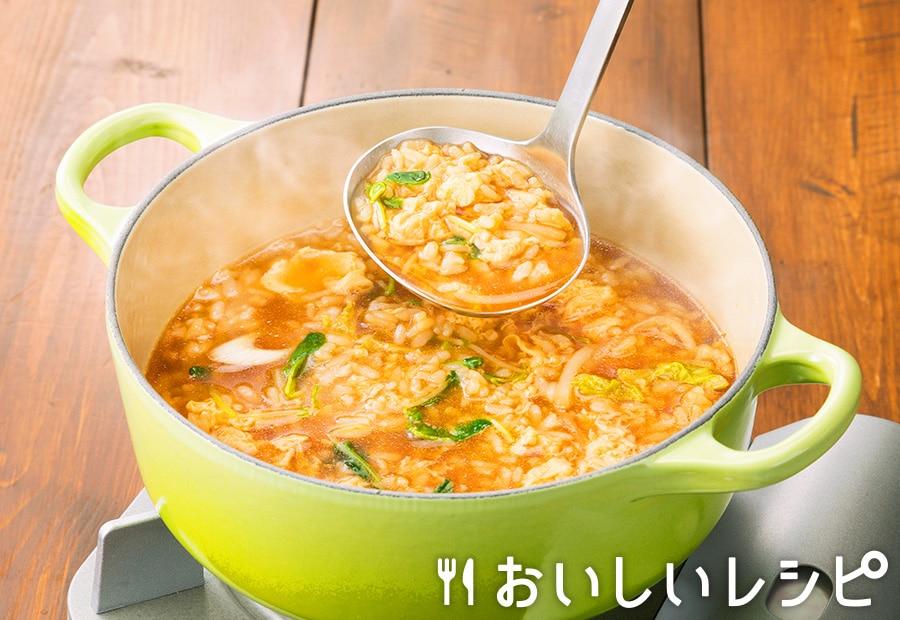 おすすめ〆雑炊〈柑橘醤油つゆ〉
