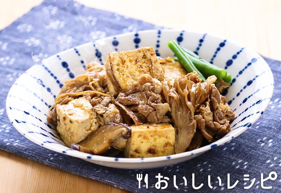 豚ときのこの肉豆腐