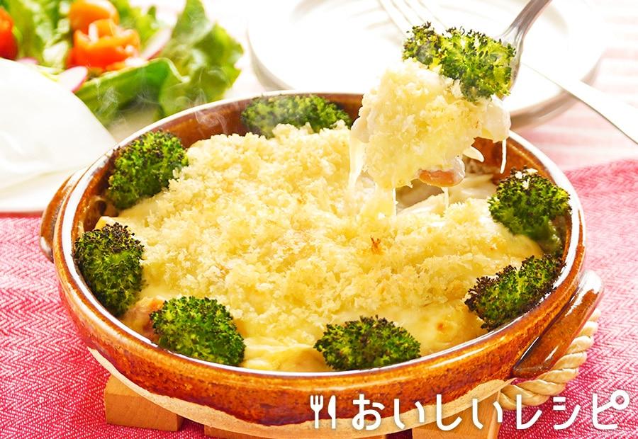 プチッと鍋で熱々ポテトグラタン