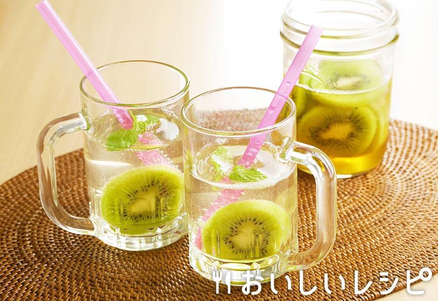 フルーツ甘酢のソーダ割り キウイ