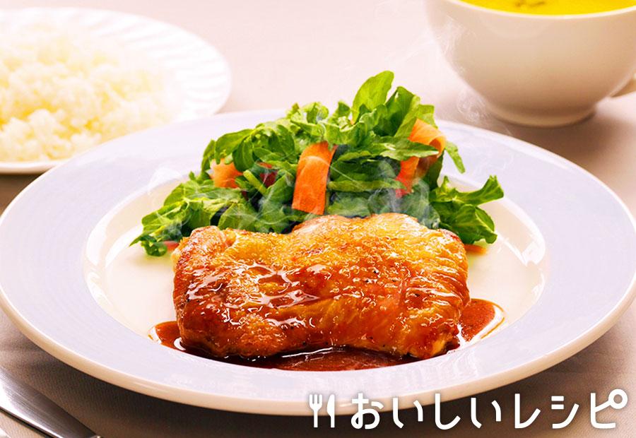 プチッとチキンステーキ(グレイビーソース)