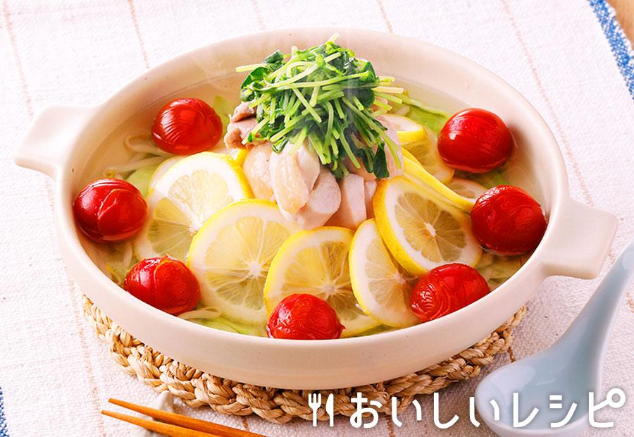 さっぱり塩レモンちゃんこ鍋