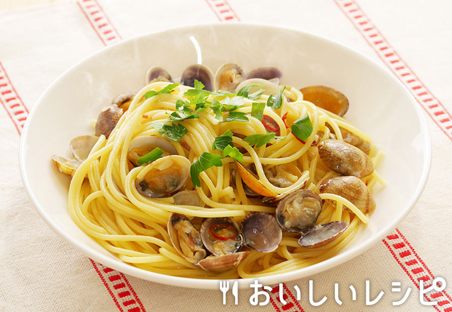 炒めて☆ボンゴレスパゲティ