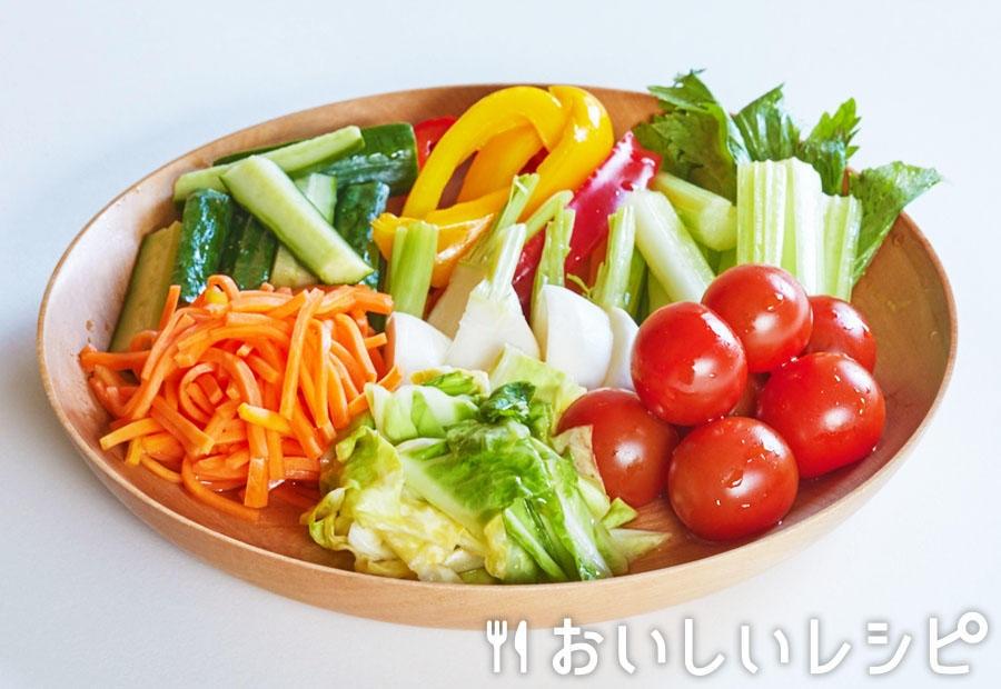 いろいろ野菜の浅漬け