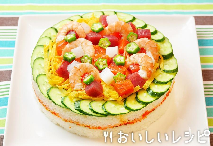 七夕ケーキ寿司