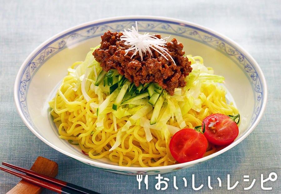 レンジで簡単ジャージャー麺