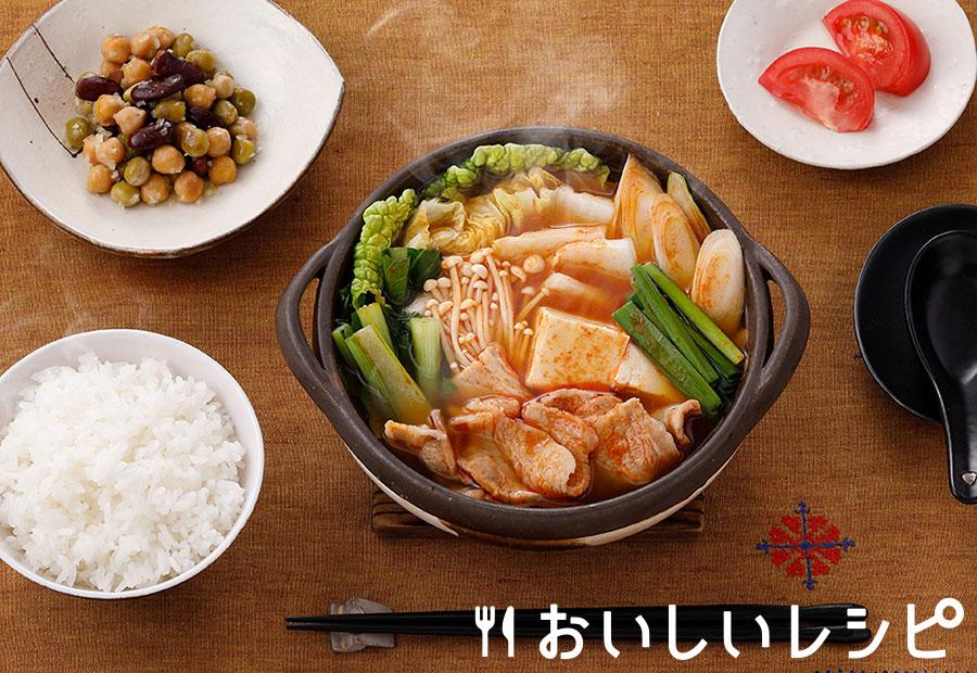 プチッとキムチ鍋定食