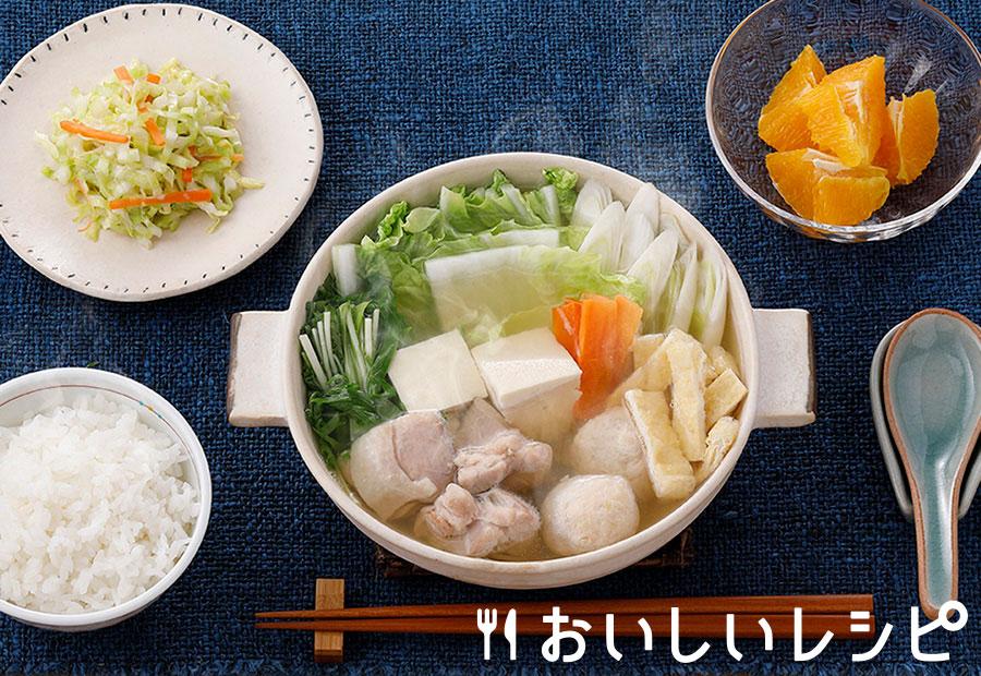 プチッとちゃんこ鍋定食
