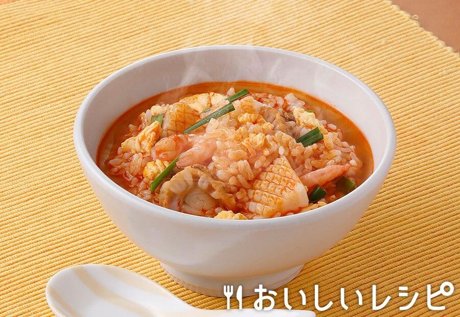 シーフードと煮込んで☆ごはんズ(ユッケジャン味)
