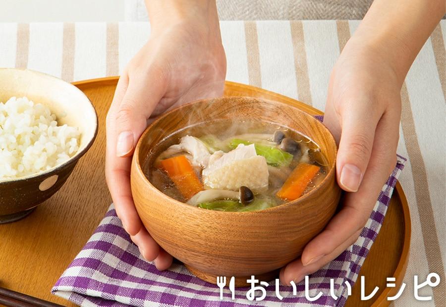 みそ汁感覚で プチッと鍋スープ