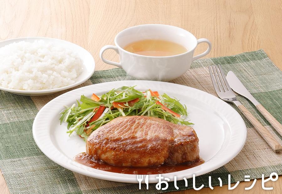 プチッとポークステーキ(和風おろし醤油味)