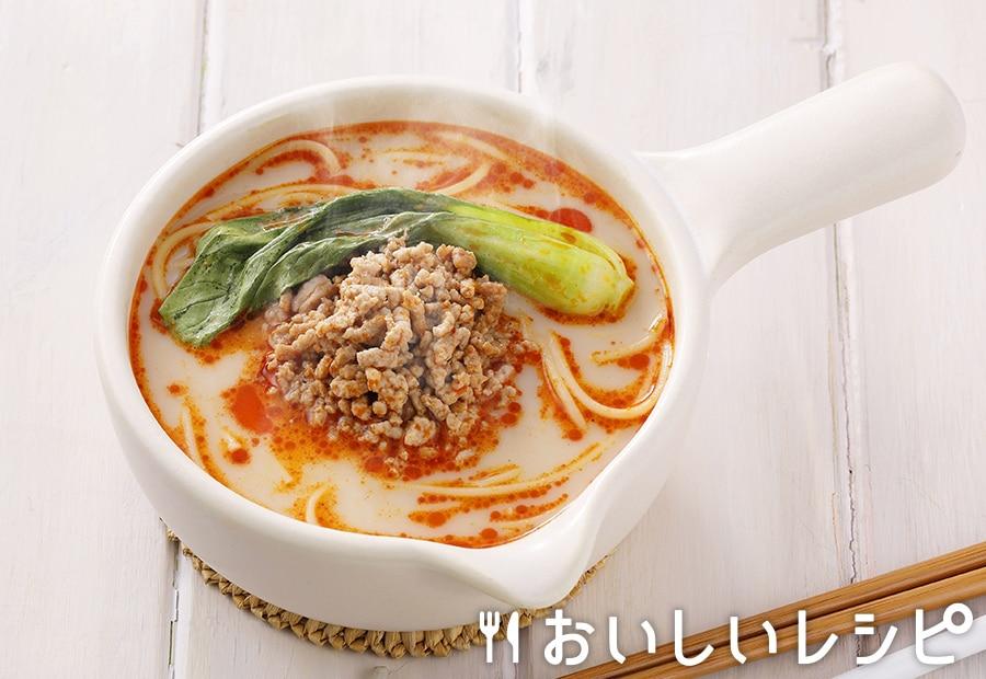 my主食スープ 豆乳担々スープパスタ