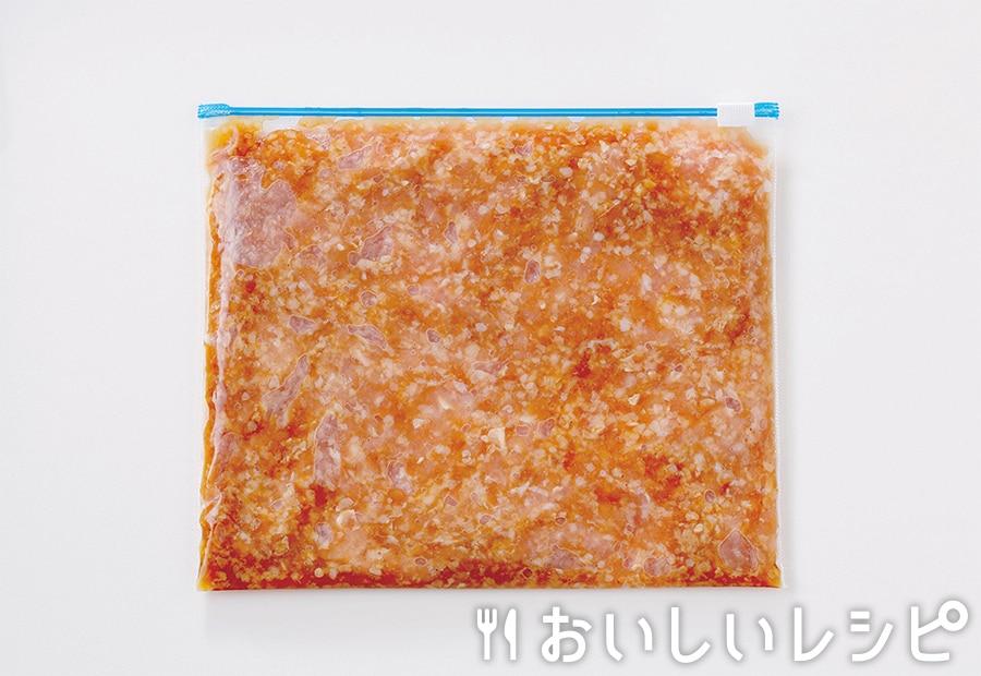 下味冷凍肉(鶏そぼろ用)