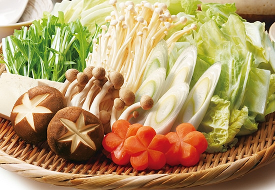 野菜がたっぷりとれる